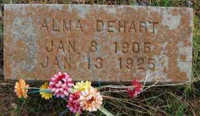 DEHART, ALMA - Greene County, Arkansas | ALMA DEHART - Arkansas Gravestone Photos