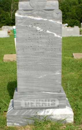 DENNIS, MARTHA - Greene County, Arkansas | MARTHA DENNIS - Arkansas Gravestone Photos