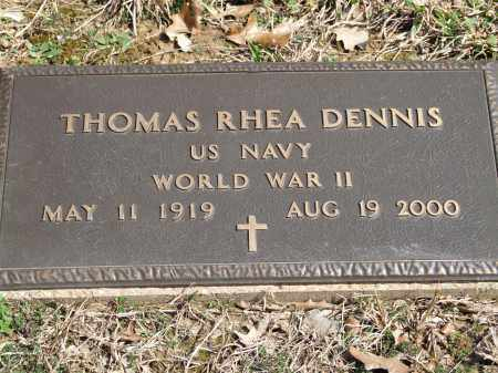 DENNIS, THOMAS RHEA - Greene County, Arkansas | THOMAS RHEA DENNIS - Arkansas Gravestone Photos