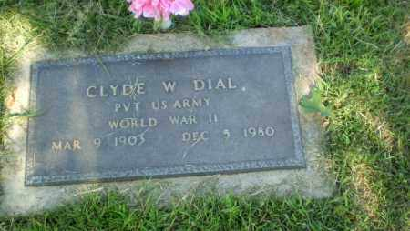 DIAL  (VETERAN WWII), CLYDE W - Greene County, Arkansas | CLYDE W DIAL  (VETERAN WWII) - Arkansas Gravestone Photos