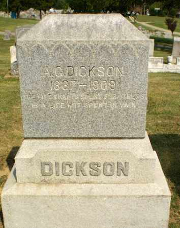 DICKSON, A.C. - Greene County, Arkansas | A.C. DICKSON - Arkansas Gravestone Photos