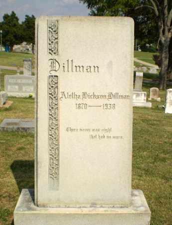 DILLMAN, ALETHA - Greene County, Arkansas | ALETHA DILLMAN - Arkansas Gravestone Photos