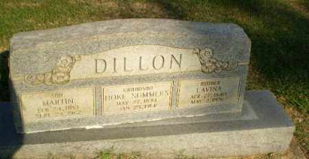 DILLON, LAVINA - Greene County, Arkansas | LAVINA DILLON - Arkansas Gravestone Photos