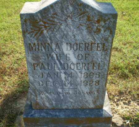 DOERFEL, MINNA - Greene County, Arkansas | MINNA DOERFEL - Arkansas Gravestone Photos