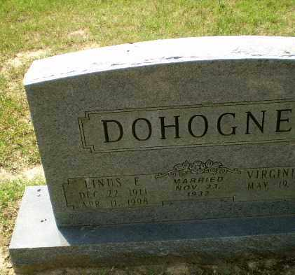 DOHOGNE, LINUS E - Greene County, Arkansas | LINUS E DOHOGNE - Arkansas Gravestone Photos