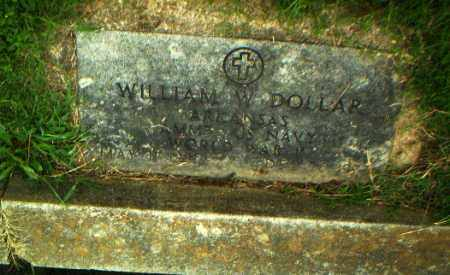 DOLLAR  (VETERAN WWII), WILLIAM W - Greene County, Arkansas | WILLIAM W DOLLAR  (VETERAN WWII) - Arkansas Gravestone Photos