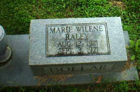 RALEY DOLLAR, MARIE WILENE - Greene County, Arkansas | MARIE WILENE RALEY DOLLAR - Arkansas Gravestone Photos