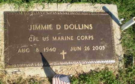 DOLLINS  (VETERAN), JIMMIE D - Greene County, Arkansas | JIMMIE D DOLLINS  (VETERAN) - Arkansas Gravestone Photos