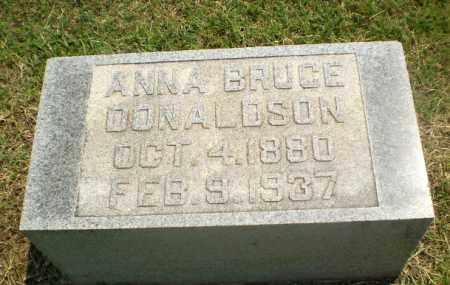 DONALDSON, ANNA BRUCE - Greene County, Arkansas | ANNA BRUCE DONALDSON - Arkansas Gravestone Photos