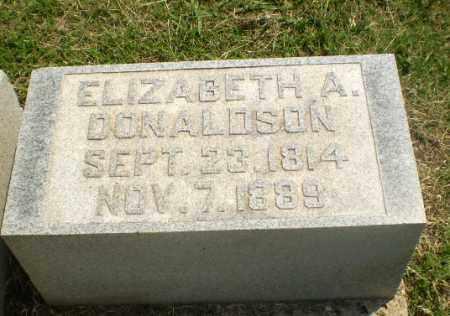 DONALDSON, ELIZABETH A - Greene County, Arkansas | ELIZABETH A DONALDSON - Arkansas Gravestone Photos
