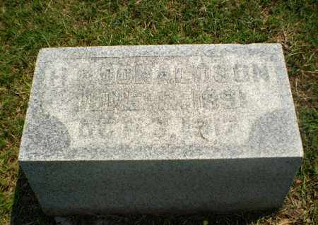 DONALDSON, H.R. - Greene County, Arkansas | H.R. DONALDSON - Arkansas Gravestone Photos