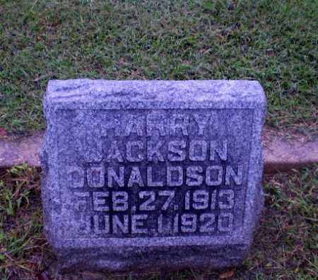 DONALDSON, HARRY JACKSON - Greene County, Arkansas | HARRY JACKSON DONALDSON - Arkansas Gravestone Photos