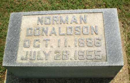 DONALDSON, NORMAN - Greene County, Arkansas | NORMAN DONALDSON - Arkansas Gravestone Photos