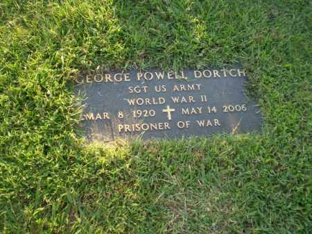 DORTCH  (VETERAN WWII, POW), GEORGE POWELL - Greene County, Arkansas | GEORGE POWELL DORTCH  (VETERAN WWII, POW) - Arkansas Gravestone Photos