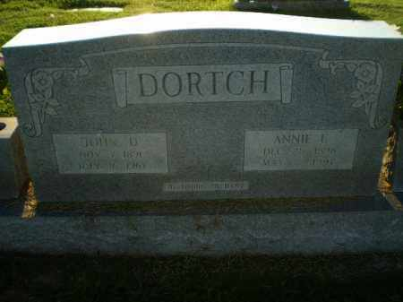 DORTCH, ANNIE E - Greene County, Arkansas | ANNIE E DORTCH - Arkansas Gravestone Photos