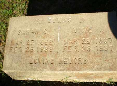 DOWNS, VICIE - Greene County, Arkansas | VICIE DOWNS - Arkansas Gravestone Photos