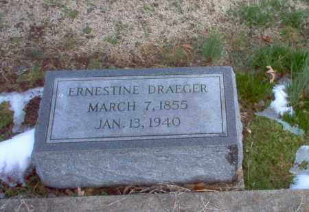 DRAEGER, ERNESTINE - Greene County, Arkansas | ERNESTINE DRAEGER - Arkansas Gravestone Photos