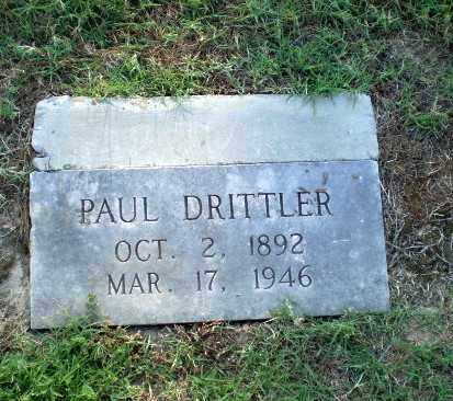 DRITTLER, PAUL - Greene County, Arkansas | PAUL DRITTLER - Arkansas Gravestone Photos