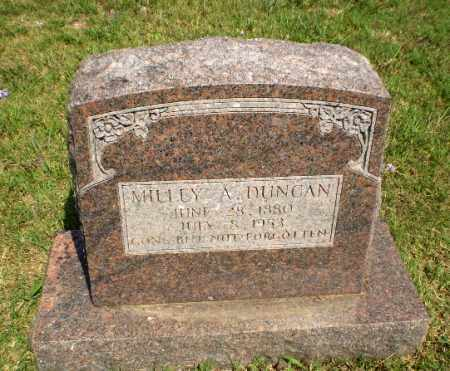 DUNCAN, MILLEY A - Greene County, Arkansas | MILLEY A DUNCAN - Arkansas Gravestone Photos