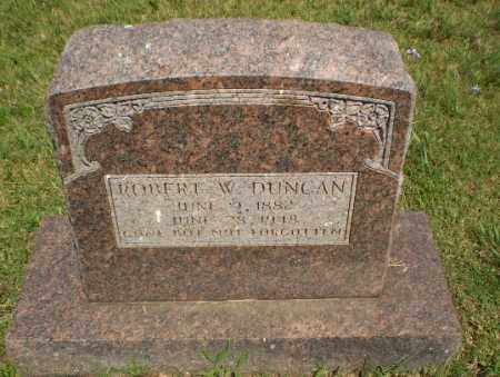 DUNCAN, ROBERT W - Greene County, Arkansas | ROBERT W DUNCAN - Arkansas Gravestone Photos