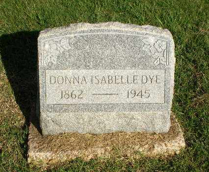 DYE, DONNA ISABELLE - Greene County, Arkansas | DONNA ISABELLE DYE - Arkansas Gravestone Photos