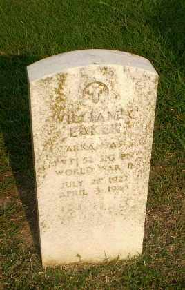 EAKER  (VETERAN WWII), WILLIAM C - Greene County, Arkansas | WILLIAM C EAKER  (VETERAN WWII) - Arkansas Gravestone Photos