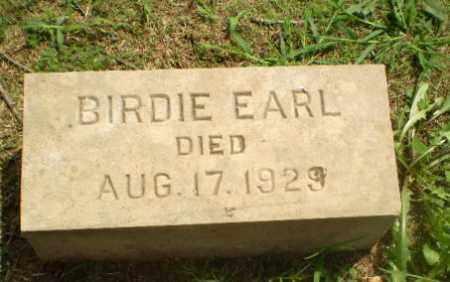 EARL, BIRDIE - Greene County, Arkansas | BIRDIE EARL - Arkansas Gravestone Photos