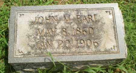 EARL, JOHN M - Greene County, Arkansas | JOHN M EARL - Arkansas Gravestone Photos