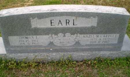 EARL, THOMAS L - Greene County, Arkansas | THOMAS L EARL - Arkansas Gravestone Photos