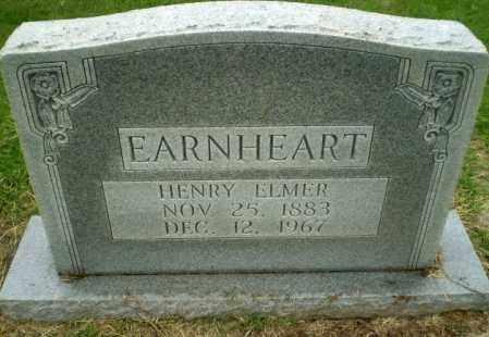 EARNHEART, HENRY ELMER - Greene County, Arkansas | HENRY ELMER EARNHEART - Arkansas Gravestone Photos