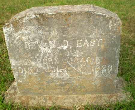 "EAST, REV., MILTON DENNIS ""M. D."" - Greene County, Arkansas 