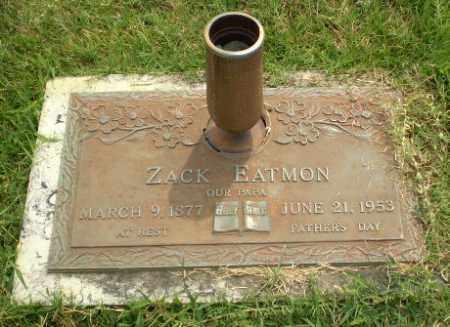 EATMON, ZACK - Greene County, Arkansas | ZACK EATMON - Arkansas Gravestone Photos