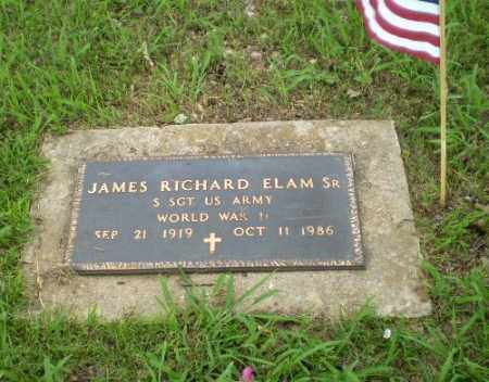 ELAM  (VETERAN WWII), JAMES RICHARD - Greene County, Arkansas | JAMES RICHARD ELAM  (VETERAN WWII) - Arkansas Gravestone Photos