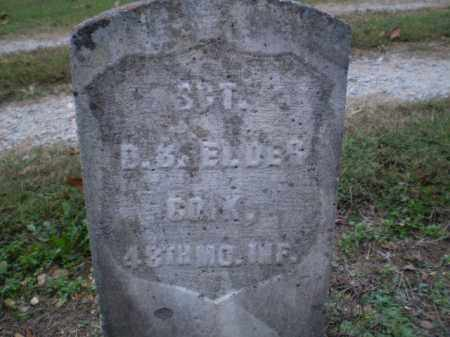 ELDER (VETERAN UNION), DANNAH B - Greene County, Arkansas | DANNAH B ELDER (VETERAN UNION) - Arkansas Gravestone Photos