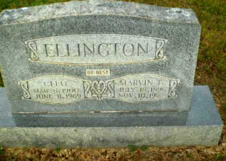 ELLINGTON, MARVIN - Greene County, Arkansas | MARVIN ELLINGTON - Arkansas Gravestone Photos