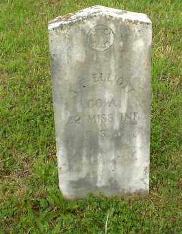 ELLIOTT  (VETERAN CSA), JOHN F - Greene County, Arkansas | JOHN F ELLIOTT  (VETERAN CSA) - Arkansas Gravestone Photos
