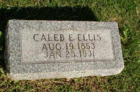 ELLIS, CALEB E - Greene County, Arkansas | CALEB E ELLIS - Arkansas Gravestone Photos
