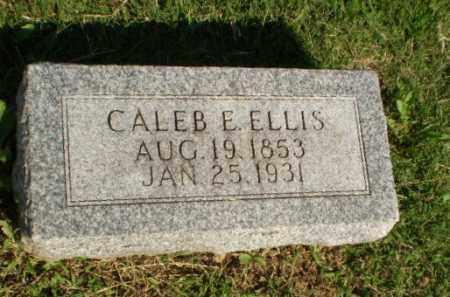 ELLIS, CALEB E - Greene County, Arkansas   CALEB E ELLIS - Arkansas Gravestone Photos