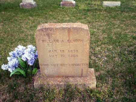 ELMORE, WILLIAM A - Greene County, Arkansas   WILLIAM A ELMORE - Arkansas Gravestone Photos