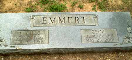 EMMERT, LUCILLE - Greene County, Arkansas | LUCILLE EMMERT - Arkansas Gravestone Photos