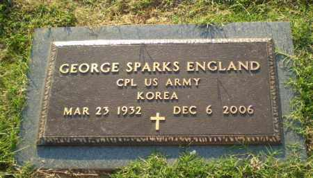 ENGLAND  (VETERAN KOR), GEORGE SPARKS - Greene County, Arkansas | GEORGE SPARKS ENGLAND  (VETERAN KOR) - Arkansas Gravestone Photos