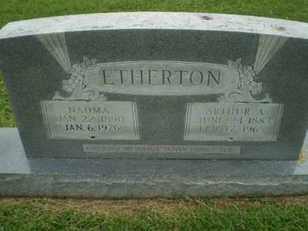 ETHERTON, NAOMA - Greene County, Arkansas | NAOMA ETHERTON - Arkansas Gravestone Photos