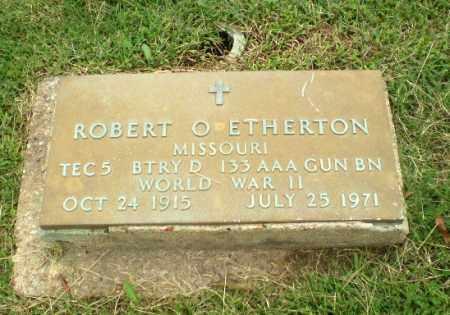 ETHERTON (VETERAN WWII), ROBERT O - Greene County, Arkansas | ROBERT O ETHERTON (VETERAN WWII) - Arkansas Gravestone Photos