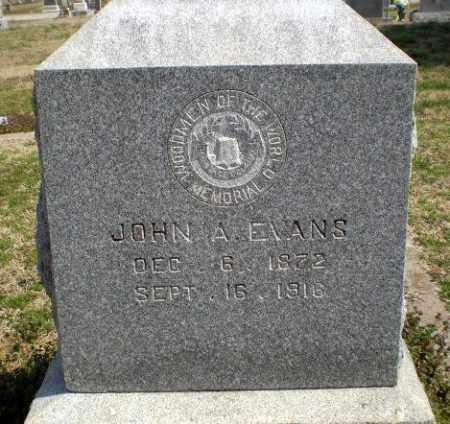 EVANS, JOHN A - Greene County, Arkansas | JOHN A EVANS - Arkansas Gravestone Photos