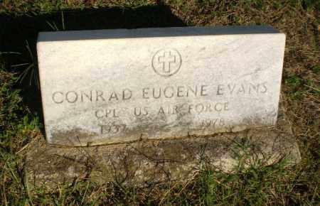 EVANS (VETERAN), CONRAD EUGENE - Greene County, Arkansas | CONRAD EUGENE EVANS (VETERAN) - Arkansas Gravestone Photos