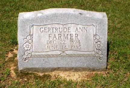 FARMER, GERTRUDE ANN - Greene County, Arkansas | GERTRUDE ANN FARMER - Arkansas Gravestone Photos