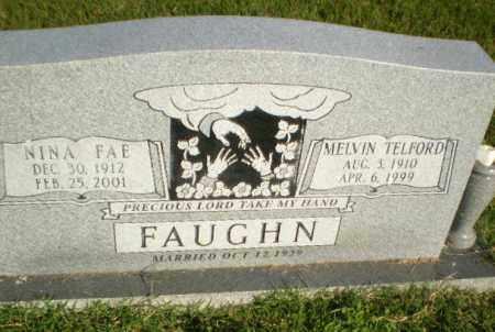 FAUGHN, MELVIN TELFORD - Greene County, Arkansas | MELVIN TELFORD FAUGHN - Arkansas Gravestone Photos