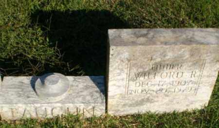 FAUGHN, WILFORD R - Greene County, Arkansas | WILFORD R FAUGHN - Arkansas Gravestone Photos