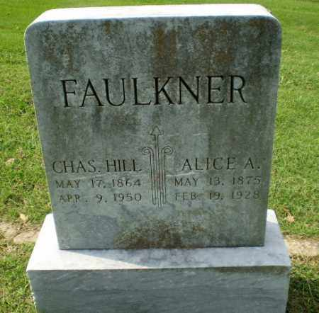 FAULKNER, CHAS. HILL - Greene County, Arkansas | CHAS. HILL FAULKNER - Arkansas Gravestone Photos