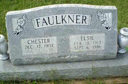 FAULKNER, CHESTER - Greene County, Arkansas | CHESTER FAULKNER - Arkansas Gravestone Photos